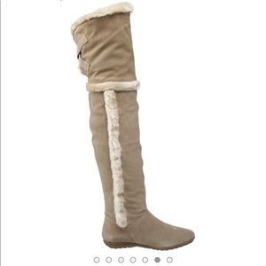 Over The Knee Boots report boots